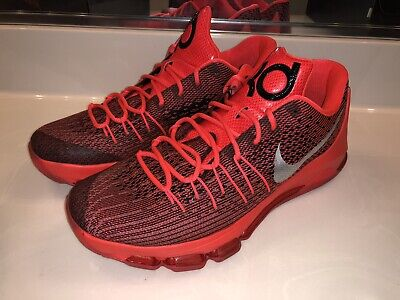 separation shoes c3bc1 75c5c Men s Nike KD 8 VIII Bright Crimson Red Basketball Shoes Size 11.5 (749375- 610
