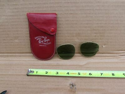 64bfb7327e VINTAGE BAUSCH AND Lomb Ray Ban Clip On Sunglasses Yellow -  29.00 ...