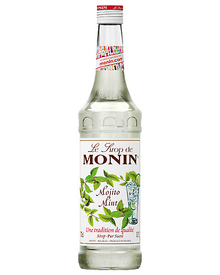 Monin Mojito Mint Syrup 700mL Other Drinks