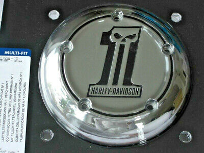 Harley Davidson Skull No.1 Luftfilter Air Cleaner Cover AC Twin Cam  27956-10