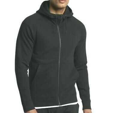 46b4524d1cdd MENS JORDAN WINGS Fleece Full Zip Hoodie 860196-010 Black NEW Size ...