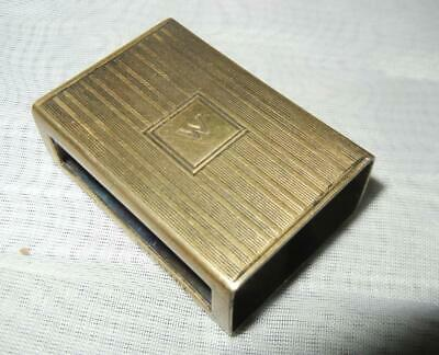 Antique Tiffany & Co Sterling Silver Match Box Safe Holder