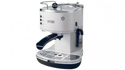 Delonghi - Icona Pump Coffee Machine - Pearl White