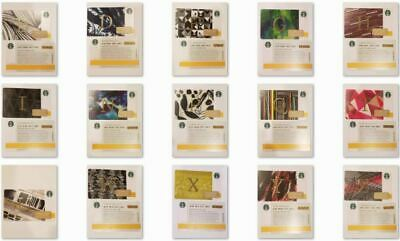 YOU CHOOSE 2014 Starbucks Letter Gift Cards from Holiday Christmas Set - USA
