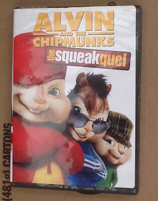 Alvin and the Chipmunks 2 The Squeakquel DVD Animated Widescreen 2010 Jason Lee