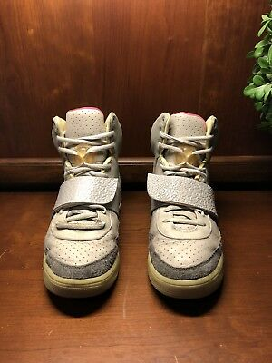 79adf46a2 NIKE AIR YEEZY 1 Zen Grey Size Us 11 Blink Net Tan 2 Red October ...