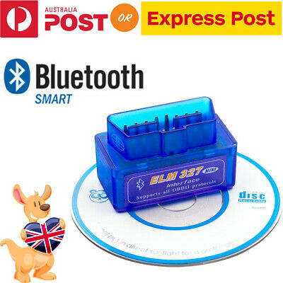 ELM327 OBDII OBD2 Bluetooth Car Scanner Torque Android CAN BUS Auto Scan Tool AU