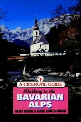 Walking in the Bavarian Alps (Walking Overs... by Korner-Bourne, Sabin Paperback