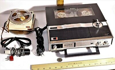 SONY TC-222-A RECORDER Reel to Reel Tape Recorder Vintage Japan