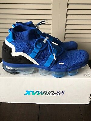Nike Air VaporMax FK Utility Flyknit Game Royal Blue AH6834-400 Men's Size 9.5