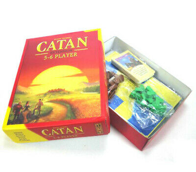 New Settlers of Catan Board Game 5th Edition 5-6 Players Extension Pack
