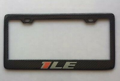 REAL Handmade carbon fiber Chevy 1LE Camaro License Plate Frame bracket holder