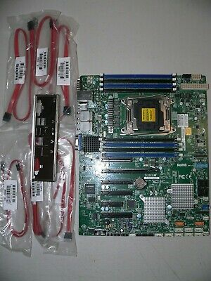 NEW* SUPERMICRO X10SRH-CLN4F Motherboard ***FULL MFR WARRANTY