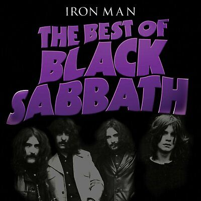 Black Sabbath - Iron Man : The Best Of Cd ~ Greatest Hits Ozzy Osbourne *New*