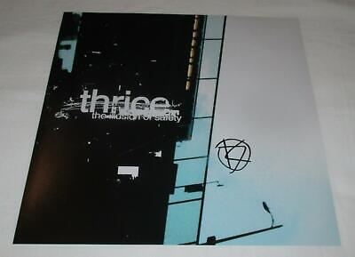 Dustin Kensrue Signed Thrice The Illusion Of Safety 12X12 Photo
