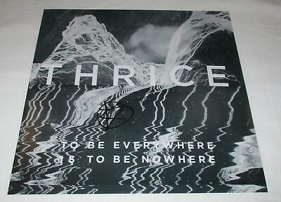 Dustin Kensrue Signed To Be Everywhere Is To Be Nowhere 12X12 Photo