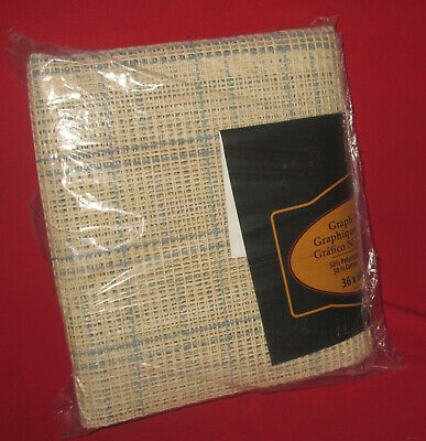 """MCG Textiles Graph N Latch Rug Canvas 3.75 36"""" x 60"""" -  Brand New in Package"""