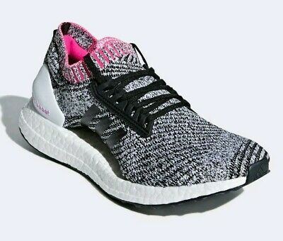 60f569a77 ADIDAS ULTRABOOST X  BB6524  Women Running Shoes White Black-Pink ...