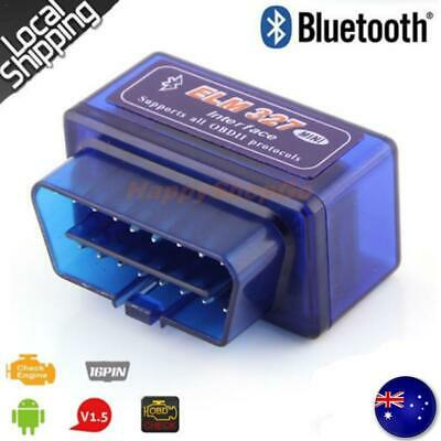 ELM327 Car Auto Scan Diag Bluetooth Scanner OBDII OBD2 Torque Android CAN Tool
