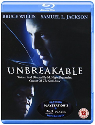 Bruce Willis-Unbreakable Blu-Ray NEW