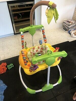 Roger Armstrong Jungle/Safari Fever Jumper w/ Sounds/Lights/Toys/Tray for Baby