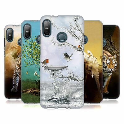 Official Simone Gatterwe Animals Soft Gel Case For Htc Phones 1