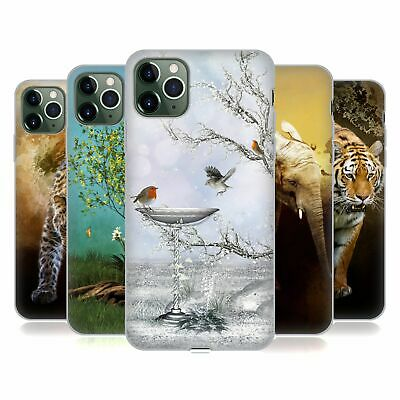 OFFICIAL SIMONE GATTERWE ANIMALS SOFT GEL CASE FOR APPLE iPHONE PHONES
