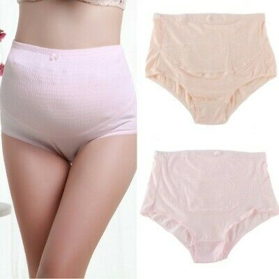 Women Maternity Knickers Pregnancy Tummy Control Belly Support High Waist Briefs