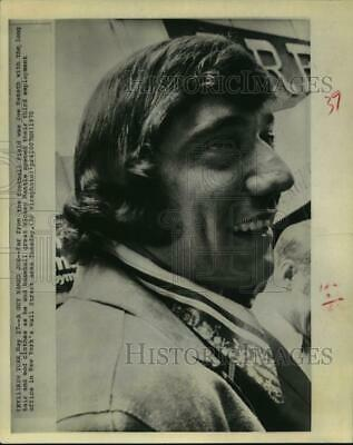 1970 Press Photo Football star Joe Namath opens employment office in New York.
