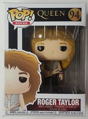 Funko Pop Rocks Roger Taylor #94 Queen Vinyl Figure