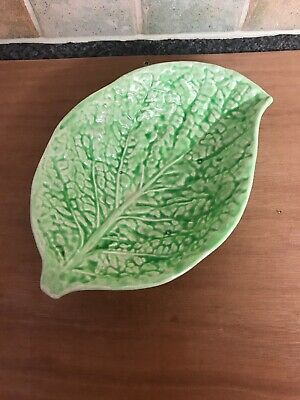 Carlton Ware ? Cabbage Leaf Dish Made in England