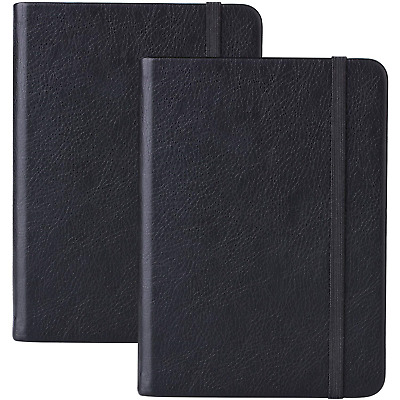2 Pack Dotted Bullet Journal/A6 Dotted Notebook - Premium Thick Paper Executive
