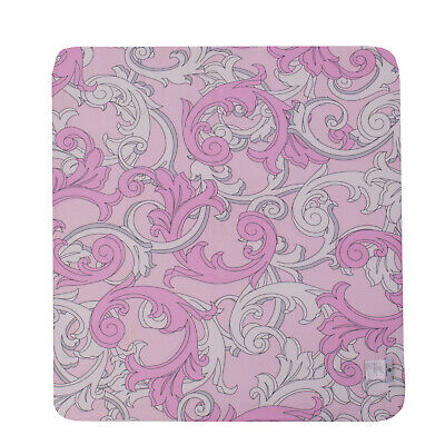 VERSACE YOUNG Baby Duvet in Light Pink Colour Paisley Print Made in Italy
