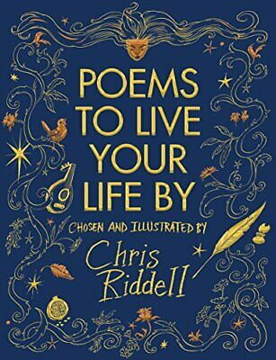 Poems to Live Your Life By by Riddell, Chris Book The Cheap Fast Free Post