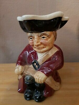 Roy Kirkham Toby Jug The Soldier 782 Vintage