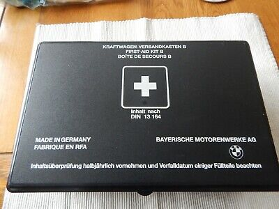 Bmw First Aid Kit - Dated 31.12.1999