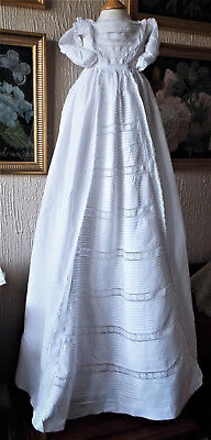 Vintage Baby Christening Gown/a.f.