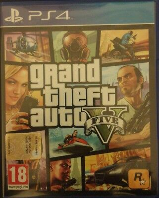 Ps4 Playstation 4 Grand Theft Auto V Gta V 5