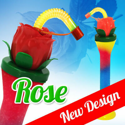 ROSE Slush yard cup 12oz (350ml) HT6 x 140 cups with lid and straw