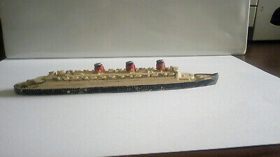 DINKY TOYS 52A QUEEN MARY 1940'S DIECAST MODEL boat bateau