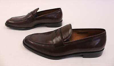 4cc1418dc84 VINCE CAMUTO MEN S Hoth Penny Loafers GG8 Dark Brown Size 13M  250 ...