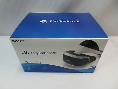NEW Sony PlayStation PS4 PSVR VR Virtual Reality Headset Glasses CUH-ZVR1