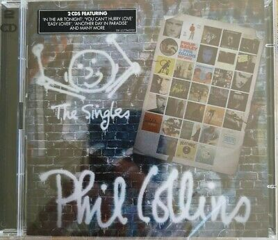 PHIL COLLINS THE SINGLES 2 CD SET 2016 GREATEST HITS Genesis New sealed