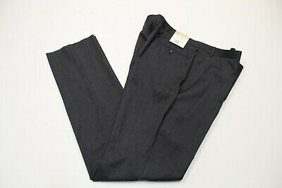 Michael Kors Mens 42 W x 48 In 100% Wool Casual Dress Pants Gray