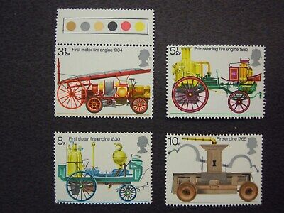 Gb. Commemoratives Bicentenary Of The Fire Prevention Act.  Sg.950/953 Mnh Set