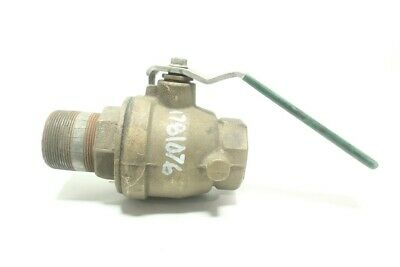 Watts Manual Bronze Threaded Ball Valve 2in Npt 400cwp