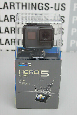 GoPro Hero 5 Black 12MP 4K Action Camera - Brand New