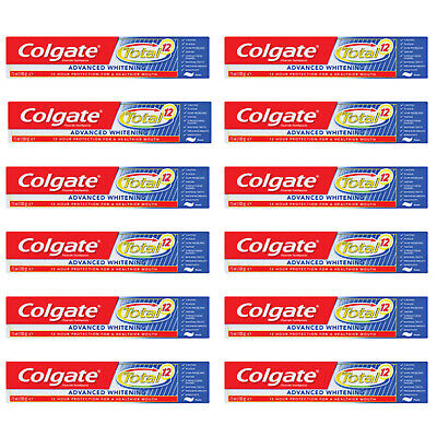 Colgate Total Advanced Whitening Toothpaste 75ml - buy 3,6 or 12