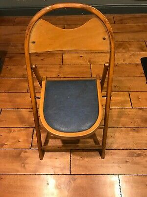 Jackson Antique Wood Padded Folding Chairs Made In Usa High Point North Carolina