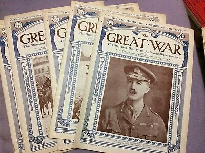 The Great war (5 issues of) issues: 234 -238